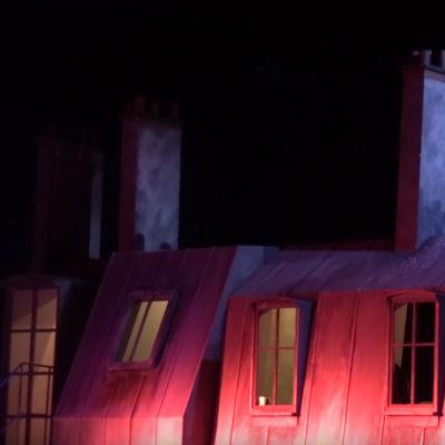 """""""La Bohème"""" – Backstage"""