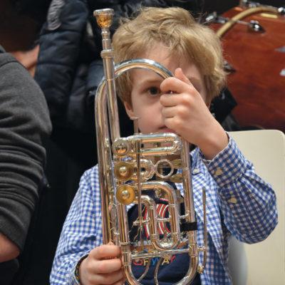 Mittendrin im Orchester